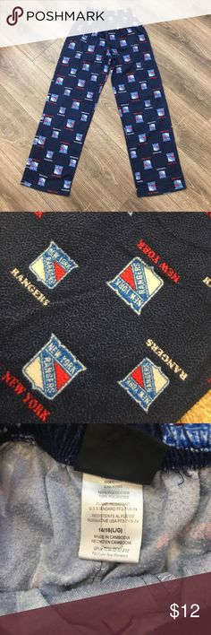 New York Rangers Pajama Bottoms Super comfy!!!! NHL Pajamas Pajama Bottoms