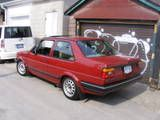 Red 2dr Jetta