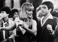 "Michelle Pfeiffer & Al Pacino ""Scarface"" directed by Brian De Palma, 1983. Photo by S. Baldwin"