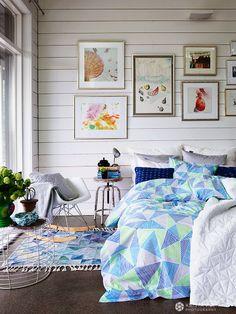Luhta Home ss 2014 Decor, Interior, Home N Decor, Home, Pretty Bedroom, Bedroom Design, Living Decor, Interior Design Bedroom, Interior Deco