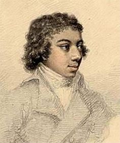 George Bridgetower (1780-1860) He was born in Poland, the son of a black man and a Polish woman. He was an accomplished violinist who premiered works by Beethoven.