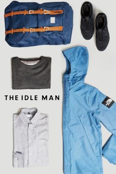 How to wear The North Face Black Label 1990 Mountain Jacket | The Idle Man