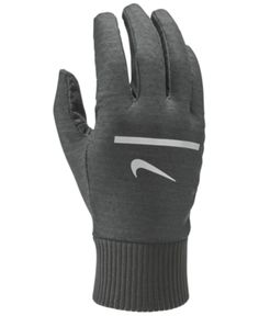 Nike Men s Dri-fit Running Gloves - Black 2ebddf61d8