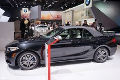 Detroit 2015: BMW M235i Convertible and 2 Series M Performance Parts
