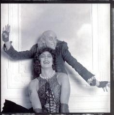 Tim Curry and Richard O'Brien ~ The Rocky Horror Picture Show