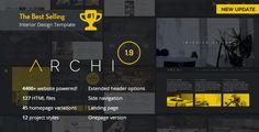 Archi - Interior Design Website Template  -  https://themekeeper.com/item/site-templates/archi-interior-design-website-template