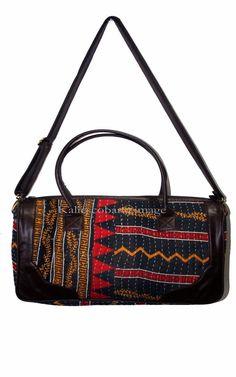 e88c30edf0 Vintage Kantha Bag Shoulder Bag Handmade Cotton Duffel Bag Vintage Travel  Bag  Handmade  SummerBeachBag