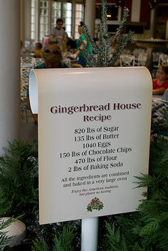 Gingerbread House recipe in American Adventure | Flickr - Photo Sharing!