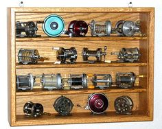 Fishing Reel Case by OakCollection on Etsy, $89.00