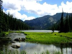 cloud peak wilderness wyoming | Lake Geneva, Cloud Peak Wilderness, WY