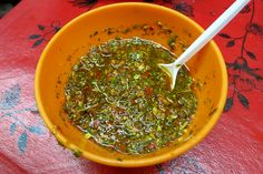 Argentinian Chimichurri sauce Argentine Dishes Authentic Food Quest