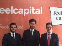 Damos las gracias a Mathias Blandin y Borja Aguiar (Financière de l'Echiquier y Altair Finance EAFI), por su visita a las oficinas de Feelcapital. A la derecha, nuestro compañero y Director de Inversiones Sergio Royuela. #Gestoras #FondosDeInversión (6 de abril de 2016).