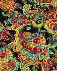 Tabulous Design: Positively Paisley