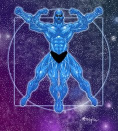 Dr. Manhattan by Franchesco on deviantART