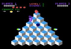 Parker Brothers Q*bert for Atari 5200 screenshot