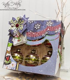 Santa's Suprises Kit - Ornament Box