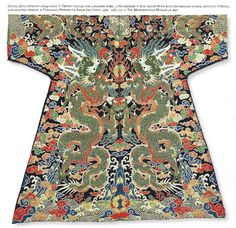 Hong gui Huan's Magick Pagoda — Qing dynasty dragon robe century Chinese Design, Chinese Style, Chinese Art, Chinese Painting, Traditional Chinese, Traditional Outfits, Costume Ethnique, Dynasty Clothing, Chinese Emperor