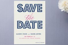 Save the Date inspiration