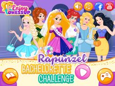Have a great time helping Rapunzel, the soon to be bride, pass her bachelorette challenge in this fun new Rapunzel Bachelorette Challenge game! Challenge Games, Games For Girls, Fun Games, Rapunzel, Family Guy, Challenges, Play, Amazing, Fictional Characters