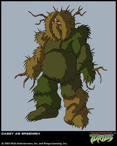 """https://flic.kr/p/6ojg5u   Casey in Greenish disguise   :: Season 1 { """"The Monster Hunter"""" } [[ Courtesy 4kids TMNT Blog ]]      -->> **Via 4kids TMNT Blog .. (( select 4KIDS TV images   in conjunction with my news updates @ Mikey's TMNT)) !!    ☠  ☠    ** """"The Monster Hunter""""**       Still recuperating up at Casey's grandmother's farm, the Turtles are feeling the sting of boredom. Luckily, a scientist known as the """"Monster Hunter"""" has come to the area searching for a l"""