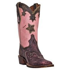 Dan Post Women's Funky Rodeo Star Cowboy Certified Boots