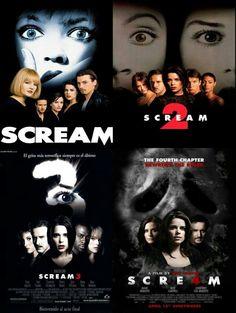 Scream i love alll these movies Scary Movie List, Scary Movies, Old Movies, Scream Series, Scream Movie, Scream 1, Scream Franchise, Japanese Horror Movies, Ghostface Scream