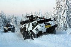 Military Armament | Sisu XA-180 PASI Armoured Personnel Carriers of...