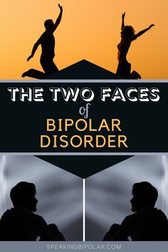 Bipolar disorder is best known for its two extremes. Read about how those two states might appear. | #bipolar #bpd #mentalillness #mentalillnessawareness Bipolar Symptoms, Mental Illness Awareness, Emotional Strength, Quote Of The Week, Keep Fighting, Two Faces, Bipolar Disorder, Bpd, Write It Down