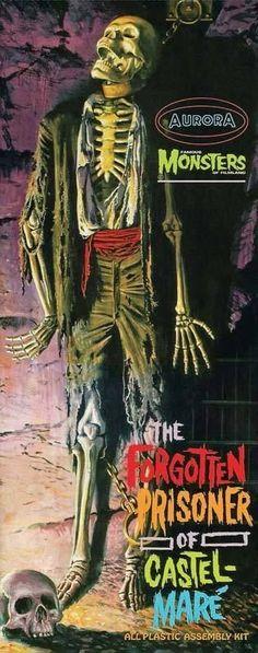 Monster Model Forgotten Prisoner of Castel-Mare HORROR New Sealed AURORA! #Aurora