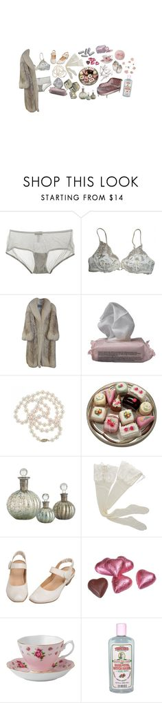 """""""i want money and your power all your glory"""" by faintingblue ❤ liked on Polyvore featuring Cosabella, La Perla, Saga Furs, The Body Shop, DaVonna, Arteriors, HYD, Royal Albert and Alöe"""