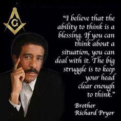 Masonic Order, Masonic Art, Masonic Lodge, Masonic Symbols, Masonic Temple, Richard Pryor Quotes, Famous Freemasons, Black History Facts, Knowledge And Wisdom