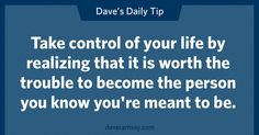 By Dave Ramsey