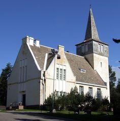 Pohjois-Pohjanmaa, Pattijoen kirkko, Raahe. Kirkon on suunnitellut arkkitehti Josef Stenbäck, ja se on valmistunut vuonna 1912.