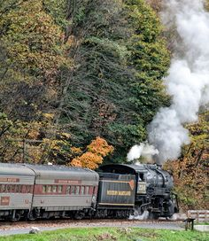 Steam Engine to Frostburg
