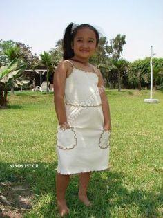 Weißes #Mädchen #Trägerkleid, #ökologische #Pima #Baumwolle, für Kinder vom 3. bis zum 8. Lebensjahr Unsere verarbeitete Pima Baumwolle ist naturbelassen und nicht chemisch gefärbt. Natürliche #Mode, freundlich zur Haut Ihres #Kindes und der Umwelt, aus #Peru