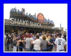 The Shake Shack at Citi Field