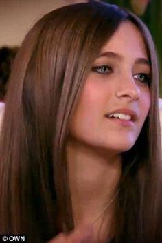 Paris Jackson.. she's beautiful and those eyes .. <3