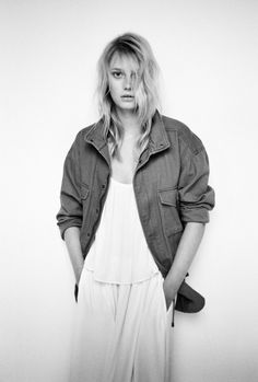 Sigrid Agren by Quentin De Briey for Mango SS 2015 lookbook
