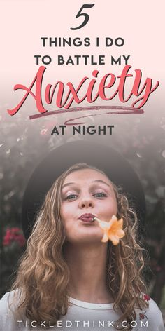 When you are living with anxiety, falling asleep at night can be difficult. If you're also having difficulty calming your anxious mind at night and coping with stress, read on to learn the small things I do to help reduce my anxiety and to help me overcome and fight my nighttime anxiety.