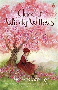Cover art for Anne of Windy Willows (Virago Press, 2017)