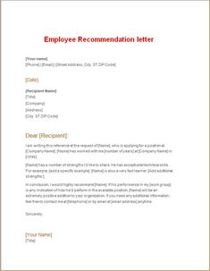 Resignation letter due to health issues letters pinterest employee recommendation for a job altavistaventures Choice Image