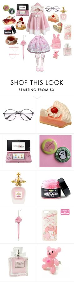 """""""🎀Pink Sugar🎀"""" by supernova-1000 ❤ liked on Polyvore featuring Nintendo, Vivienne Westwood and Christian Dior"""