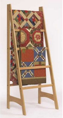Swinging-Arm Quilt Rack | Quilts | Pinterest | Arms, Quilt display ... : quilt shelves - Adamdwight.com