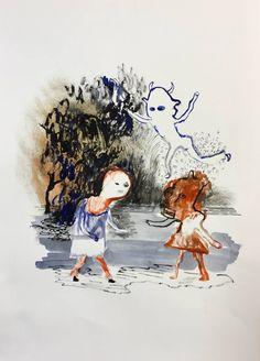 "Jackie Berridge; Drawing, ""Midsummer"""