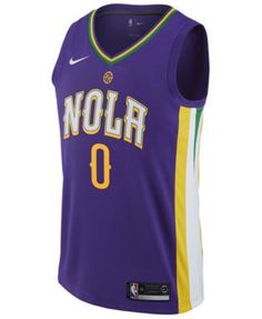 adidas Men s DeMarcus Cousins New Orleans Pelicans City Swingman Jersey -  Blue XXL Anthony Davis 839be78ca