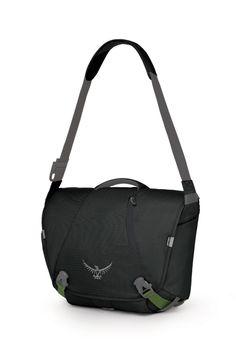 a39182251 Osprey FlapJack Men's Courier Shoulder Bag (Black) Laptop Bag, Gym Bag,  Fashion
