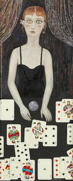 Oskar Ragnar Linden (1919-1993) : Sybilla, 1967