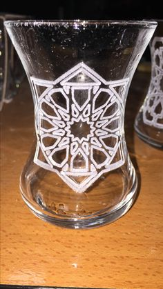 Tea glasses design...