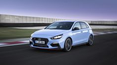 With up to 275 horsepower, an electronic limited slip differential and five drive modes, Hyundai's first hot hatch is here for some GTI blood Volkswagen Golf, New Hyundai, Golf R, Auto News, Car Prices, Toyota Cars, Limited Slip Differential, Car And Driver, Exotic Cars