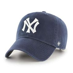 best service ab9d9 20130 New York Yankees 47 Brand Cooperstown Navy Clean Up Adjustable Hat